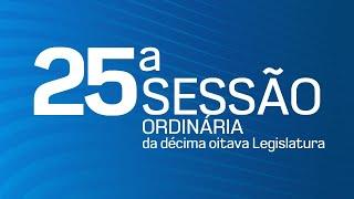 25ª Sessão Ordinária da Décima Oitava Legislatura - TV CÂMARA ITANHAÉM
