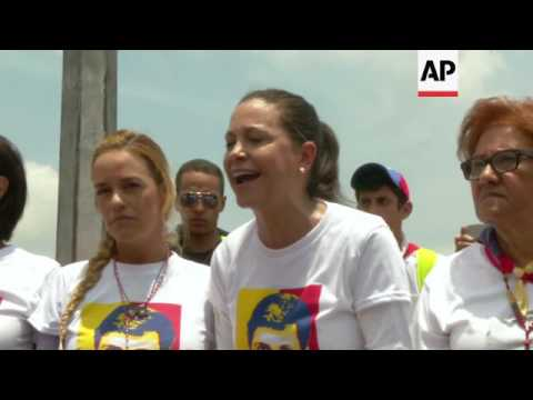 Venezuela protests continue with massive march