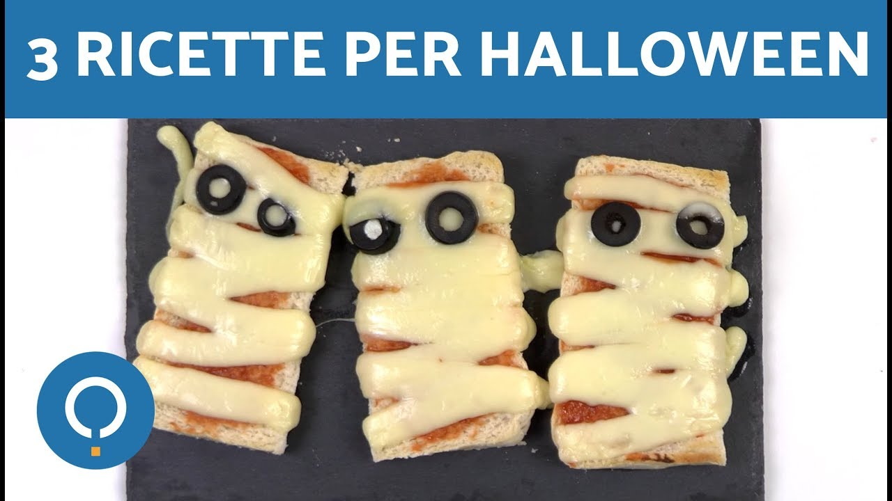 3 ricette per halloween dolci e salate ricette facili for Ricette facili dolci