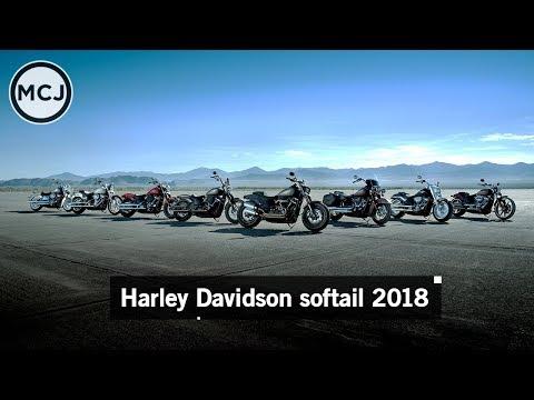 151 Harley Davidson soft tail 2018 lineup