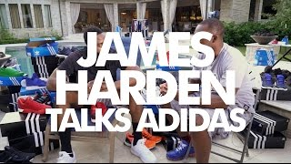 James Harden Talks Brand New adidas Deal - Exclusive Interview