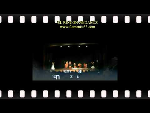 FLAMENCO BORDEAUX EL RINCON ANDALUZ VIDEOCLIP GALA 2010