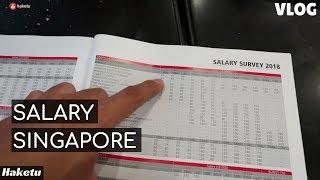 Lương đi làm ở Singapore 2018 (sau khi du học xong)