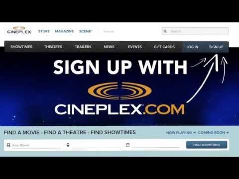Cineplex.com: How To Sign Up For Cineplex Connect