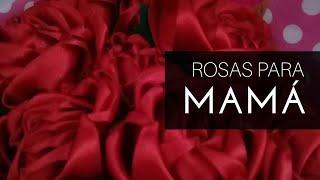 DIY: Rosas de Liston// Dia de las Madres  Como hacer Rosas de liston Satinado