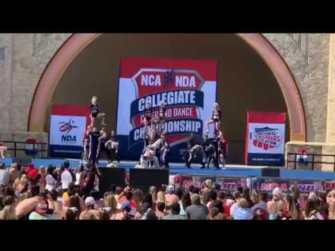 2019 Weber State Cheerleading National Championship performance