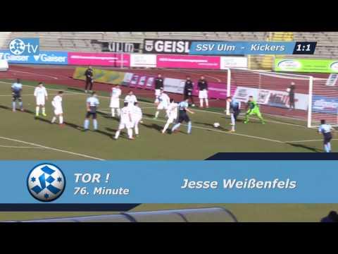 26. Spieltag: SSV Ulm 1846 vs. SV Stuttgarter Kickers-Spielbericht