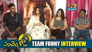 Pandem Kodi 2 Movie Team Funny Interview | Keerthy Suresh | Vishal | Vara Lakshmi | NTV ENT