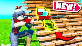 *NEW EDIT TRICK* SNIPE THROUGH RAMPS!! - Fortnite Funny Fails and WTF Moments! #797