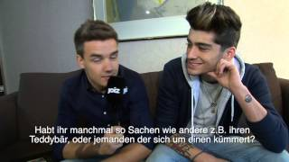 Liam and Zayn Interview with Joiz
