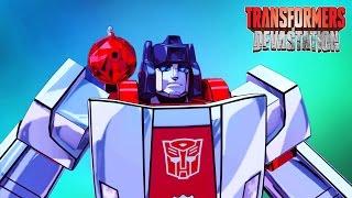 ТРАНСФОРМЕРЫ #8 МУЛЬТ ИГРА для детей про БИТВУ Роботов АВТОБОТОВ Transformers Devastation