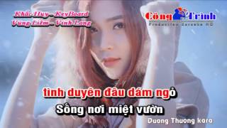 [Karaoke Nhạc Sống] Anh Ba Khía Remix 2016 Khắc Huy KeyBoard
