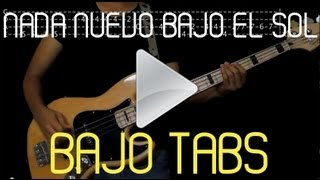 Los Bunkers - Nada Nuevo Bajo El Sol (Cover/TABS)