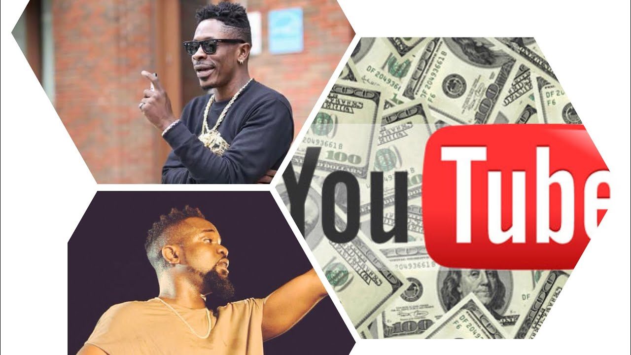 Here is how much Ghanaian musicians earn on Youtube