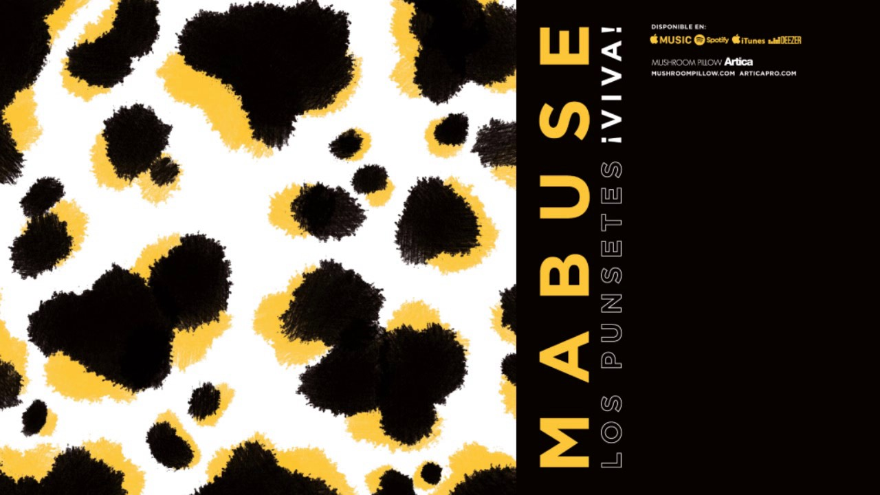 los-punsetes-mabuse-audio-oficial-mushroom-pillow