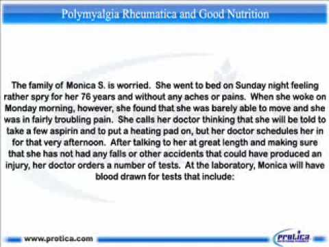 086 Polymyalgia Rheumatica and Good Nutrition.