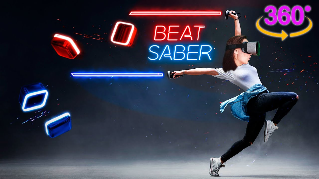 Beat Saber VR - Modo 360 con Imagine Dragons (LOCURA)