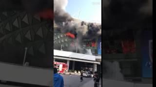 Shanghai Shenhua Stadium Damaged by Major Fire