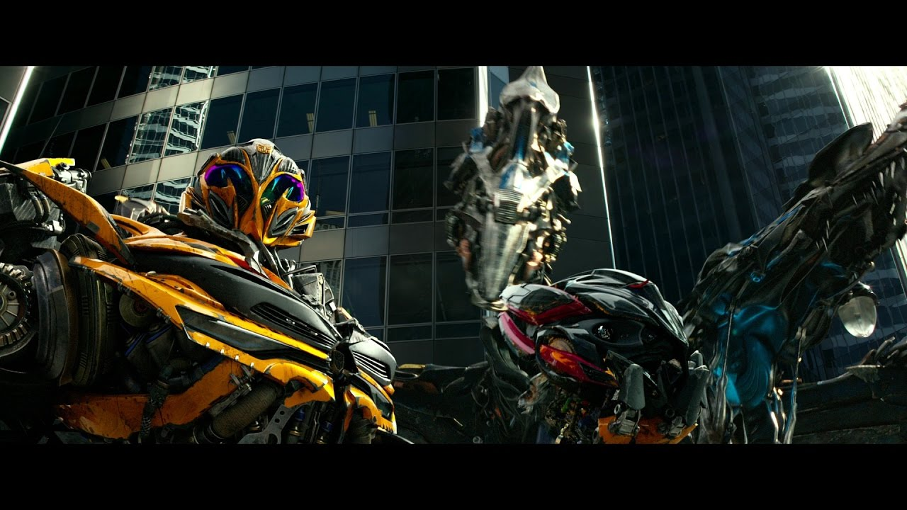 Transformers 4 Age of Extinction - Bumblebee vs Stinger HD ...