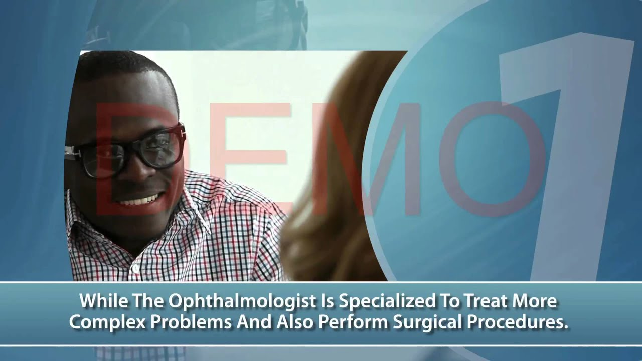 22c1e48f87c Optometrist - Vision Center - Eye Doctors Near Me - Optometrist Video by  Largs Videos