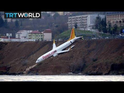 Turkey Plane Accident: Plane skids off runway on Black Sea coast