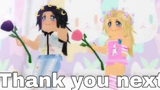 Thank you next | ROBLOX 💜💕