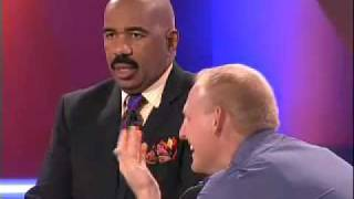 Family Feud host Steve Harvey almost walks off...What Get