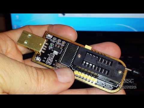 Installing Drivers for the USB Bios Chip Programmer CH341A (Black Edition) By:NSC