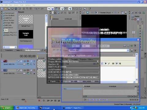 sony movie studio 13.0 authentication code
