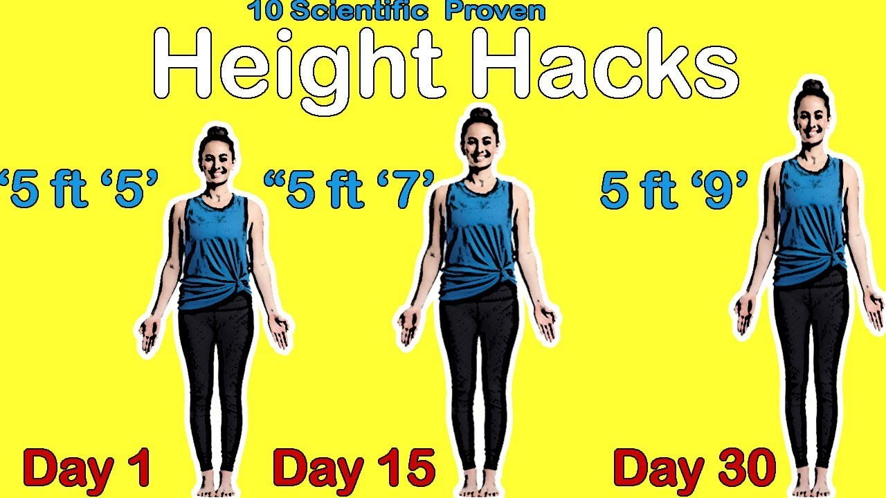 How to Increase Height After 18, 21 or 25 - Find Health Tips