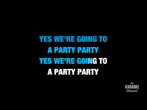 "Birthday in the Style of ""The Beatles"" karaoke video with lyrics (no lead vocal)"