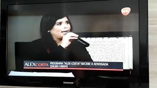 Trechos da entrevista sobre a campanha AGOSTO lilás e Lei Maria da Penha.
