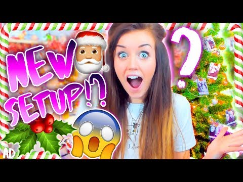🎅🏼NEW CHRISTMAS SET UP!🎅🏼 (Made with YOU GUYS!🎄)