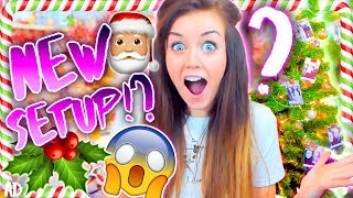 Video 🎅🏼NEW CHRISTMAS SET UP!🎅🏼 (Made with YOU GUYS!🎄) download MP3, 3GP, MP4, WEBM, AVI, FLV November 2017