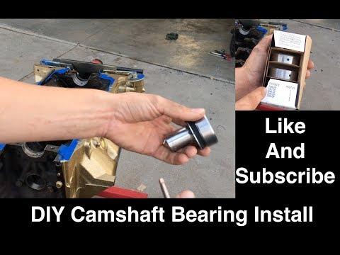 DIY $5 Homemade Camshaft Bearing Tool and Install – 350 Oldsmobile
