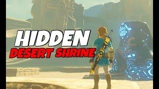 HIDDEN SHRINE - EAST GERUDO RUINS Zelda Breath of the Wild