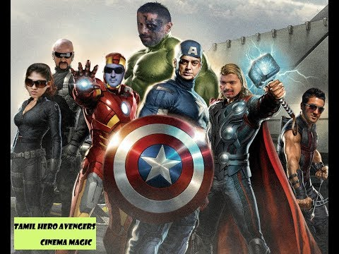 Avengers as Tamil Heroes | Tamil Dubbed