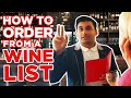 How to order a Wine anywhere! Bar, Restaurant or Shopping!
