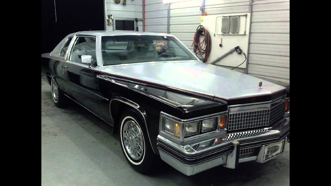 1979 Cadillac Coupe Deville - YouTube