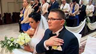 Inna wersja ślubu kościelnego (skrót w zwolnionym tempie)