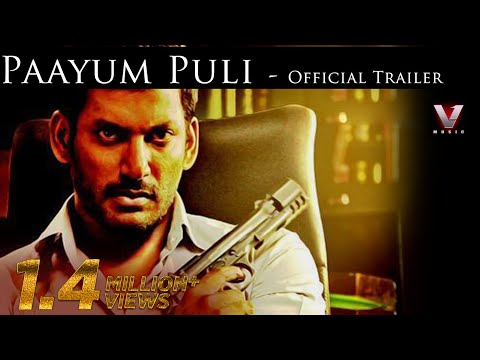 Paayum Puli - Official Trailer |  Suseenthiran | Vishal, Kajal Aggarwal | D Imman | Suseenthiran