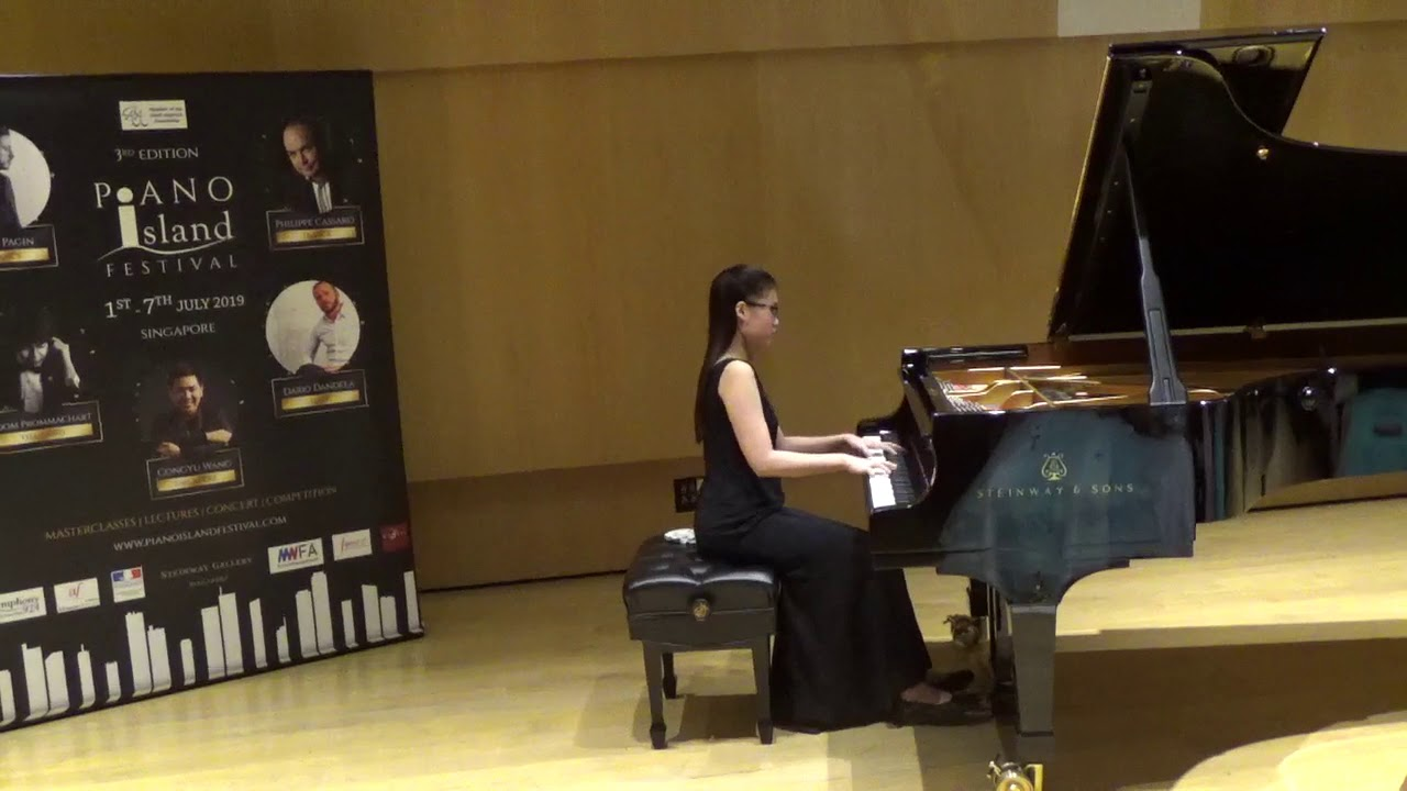 Pung Rae Yue (15) - Award Ceremony of 3rd Piano Island Festival &  Competition