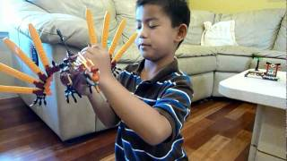 LEGO Ninjago fire temple show by Ted