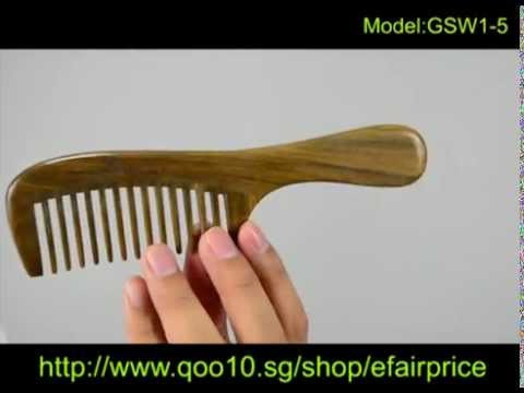 Wooden comb singapore