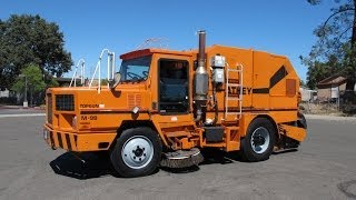 1995 Athey Mobil TopGun M-9B Bottom Dump Street Sweeper for sale
