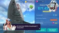 WEISSEN HAI ANGELN? Kein Problem bei FISHING STRIKE Angel Spiel App deutsch | Nina der Profi Angler