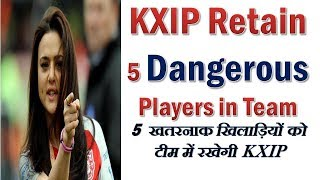 Kings XI Punjab team ipl 2018 | KXIP might retained these players | ipl 2018 auction