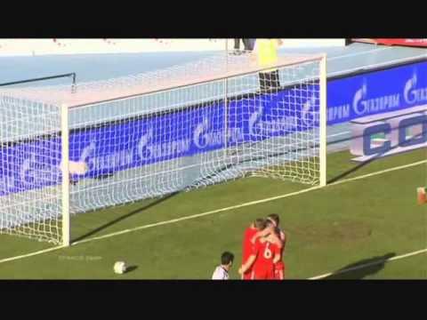 Россия - Армения; 3-1 (Квалификация Евро 2012) 4 июня