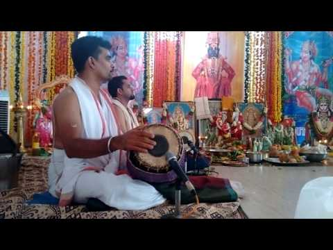 Aluva Bhajanotsavam 2016 Radha Kalyanam By Sri Chennai A Shrikanth Bhagavathar