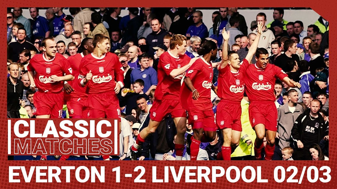 Premier League Classic: Everton 1-2 Liverpool 01/02 | Murphy's curler beats nine-man Blues